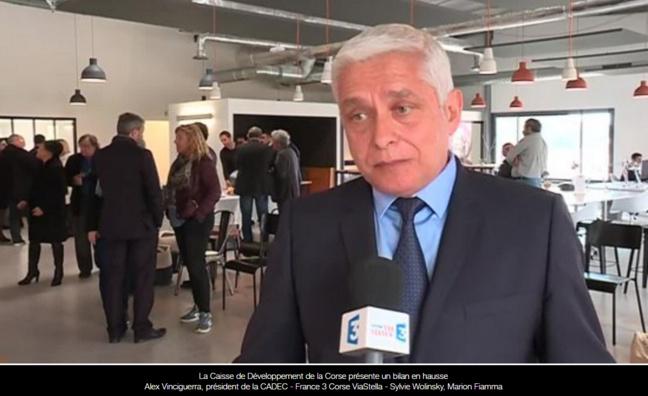 France 3 Corse Via Stella : La caisse de développement de la Corse présente un bilan en hausse